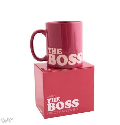 Caneca The Boss