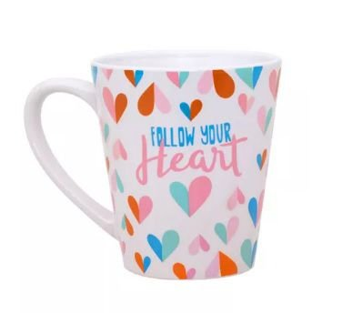 Caneca Conica -  Follow Your Heart