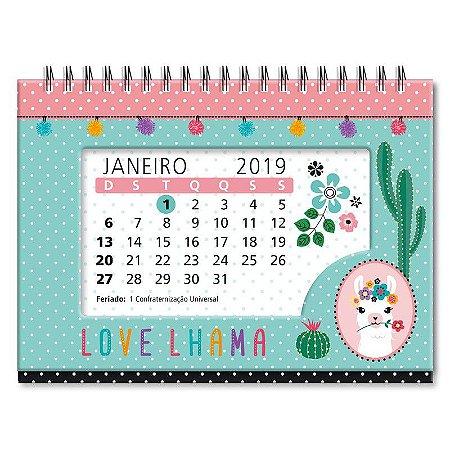 Calendário Love Lhama
