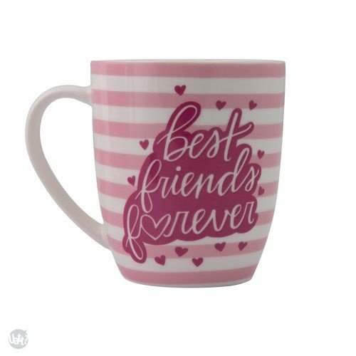 Caneca Listrada Best Friends