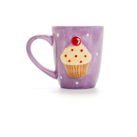 Caneca Cup Cake Roxo