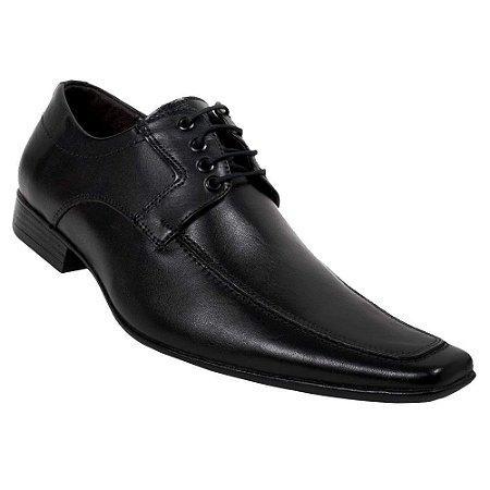 Sapato Social Bigioni Masculino Couro Preto