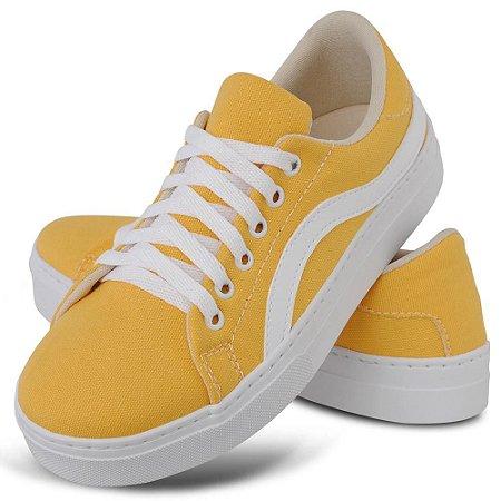 Tênis Feminino Amarelo Torani