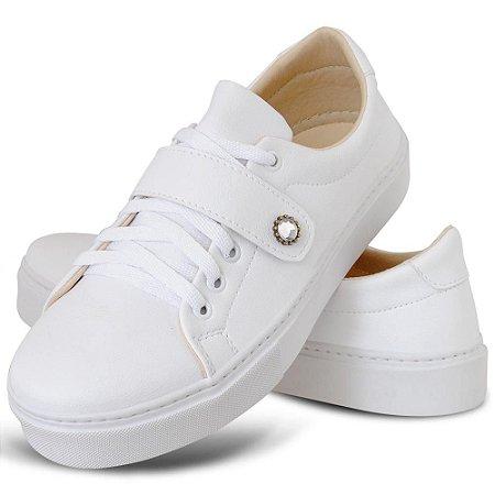 Tênis Feminino Branco Torani