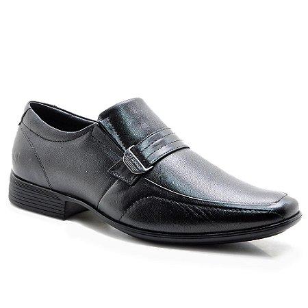 Sapato Social Pipper Masculino Couro de Carneiro Preto
