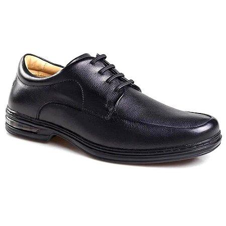 Sapato Rafarillo Comfort Cadarço Masculino Preto