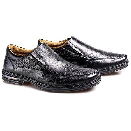 Sapato Rafarillo Comfort Masculino Preto
