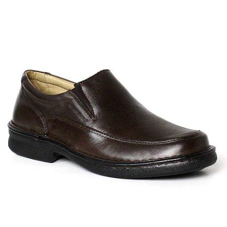 Sapato Comfort Sapatoterapia Pelica Carneiro Marrom