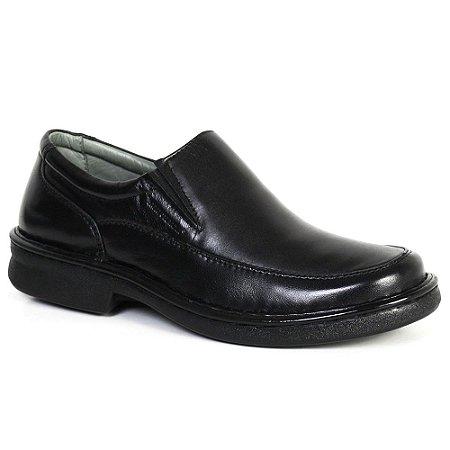 Sapato Comfort Sapatoterapia Pelica Carneiro Preto