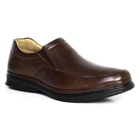 Sapato Comfort Sapatoterapia Dover Pelica Carneiro Marrom