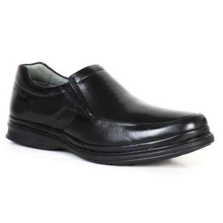 Sapato Comfort Sapatoterapia Dover Pelica Carneiro Preto