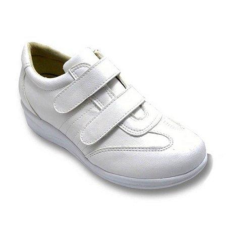 Sapato Feminino Torani Ortopédico Comfort Branco