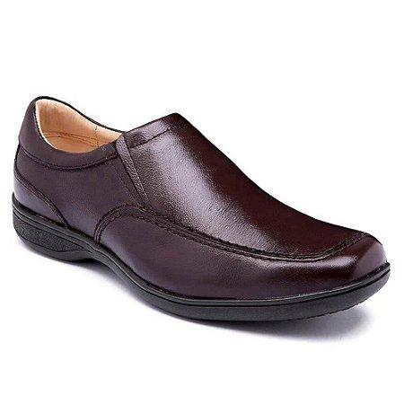 Sapato Masculino Couro Marrom Torani Stanley