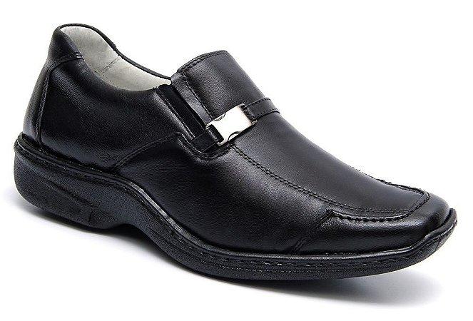 6762b0b37f Sapato Confort Mafisa Pelica Preto - Loja Santa Fé Calçados ...