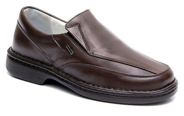 77b56ee50 Sapatos confortáveis para idosos - Pele de Carneiro Palmilha Gel ...