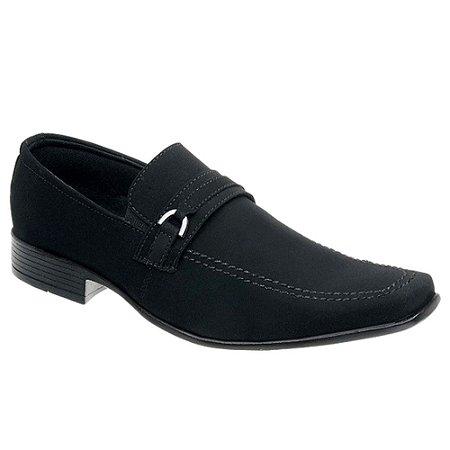 Sapato Masculino Social Nobuck Sola Borracha Torani SLZ