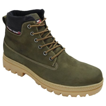 Bota Masculina Adventure Ride Work Atron Sola de Borracha
