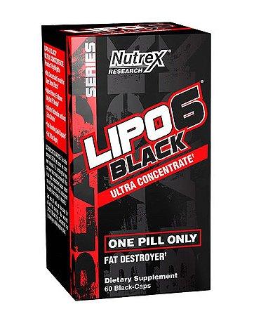 Lipo 6 Black Importado 60 caps Original NUTREX