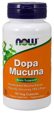 Dopa Mucuna 90 Veg Capsulas NOW Foods