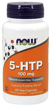 5 HTP 100mg 60 veg caps NOW Foods