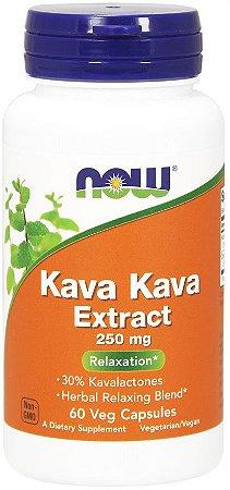 Kava Kava 250 mg Veg Capsules NOW Foods