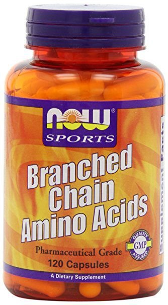 Bcaa 800 mg 120 caps NOW Foods