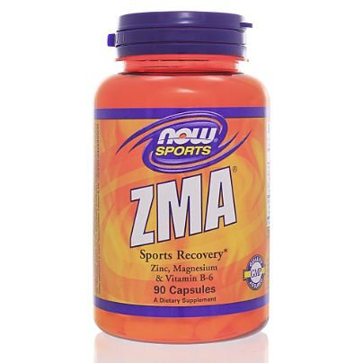ZMA 800mg 90 Caps NOW Foods