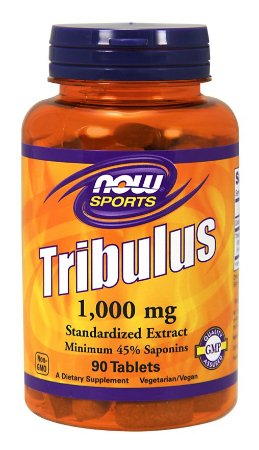 Tribulus 1000 mg 90 Tablets NOW Foods