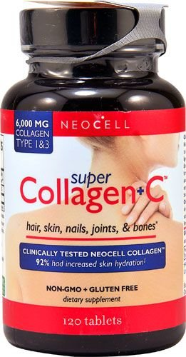 Super Colageno + Vitamina C 6000 mg 120 Tablets NEOCELL