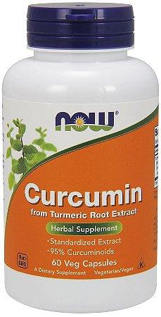 Curcumin Curcumina 60 veg caps NOW Foods