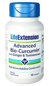 Advanced Bio Curcumin com Ginger & Turmerones LIFE Extension