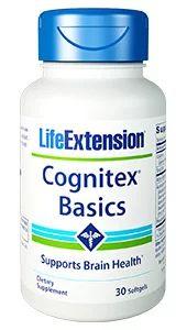 Cognitex Basics 30 softgels LIFE Extension