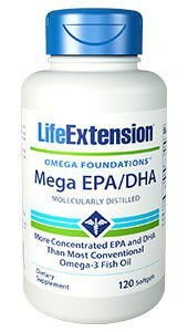 Mega EPA/DHA120 Softgels LIFE Extension