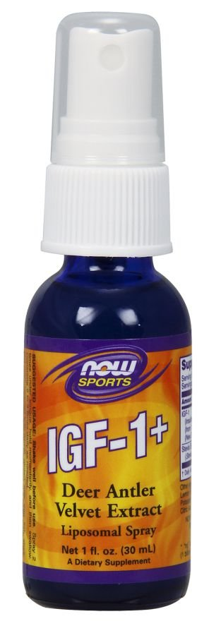 IGF 1 + Liposomal Spray NOW Foods