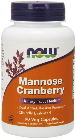 Mannose Cranberry 90 Veg Capsules NOW Foods