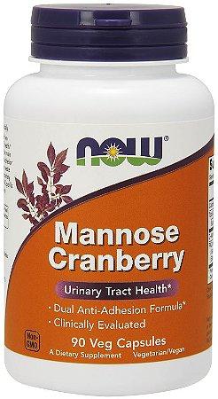 Mannose Cranberry 90 Veg Capsules NOW Foods