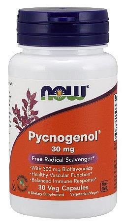 Pycnogenol 30 mg 30 Veg Capsules NOW Foods