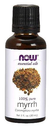 Óleo de Myrrh mirra 1oz 30 ml 100% PURO NOW Foods