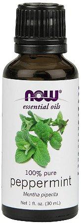 Óleo essencial de Peppermint hortelã pimenta 1oz 30ml NOW Foods