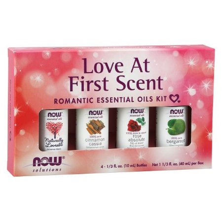 Kit de Óleos Essenciais Love at First Scent  40ml NOW Foods FRETE GRATIS