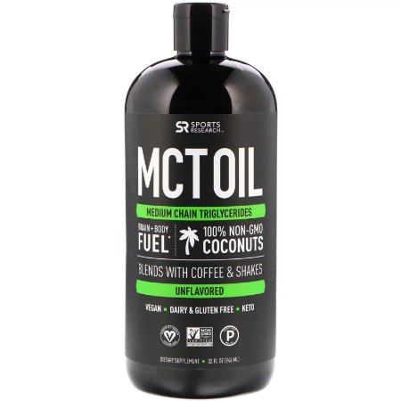 MCT Oil  946ml SPORTS Research