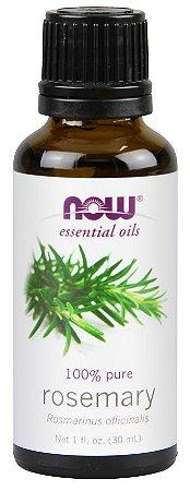 Óleo essencial de Rosemary alecrim 1oz 30 ml NOW Foods