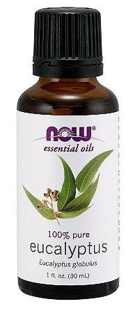 Óleo essencial de Eucaliptus Eucalipto 1oz 30ml NOW Foods