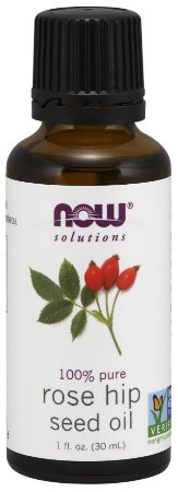 Óleo vegetal de Rose hip rosa mosqueta 1oz 30 ml NOW Foods