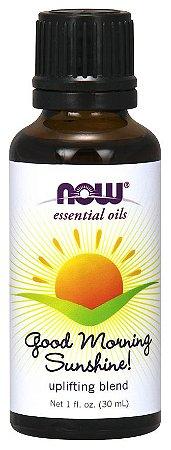 Óleo essencial blend Good Morning Sunshine 1oz 30ml NOW Foods