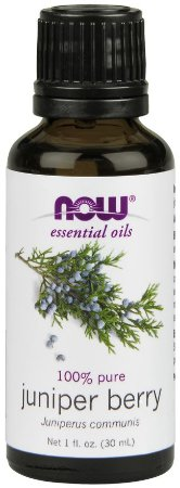 Óleo essencial de Juniper Berry 1oz 30ml NOW Foods