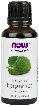 Óleo essencial de Bergamot bergamota 1oz 30ml NOW Foods