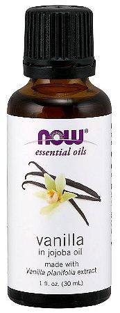 Óleo blend de Vanilla Baunilha 1oz 30ml NOW Foods