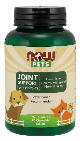 Joint Support for Dogs & Cats para cães e gatos 90 chewables tabs NOW Pets