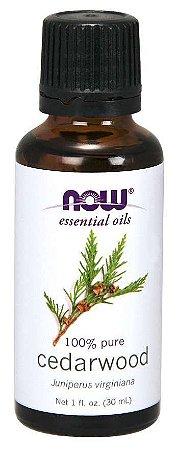 Óleo essencial de Cedarwood cedro 1oz 30ml NOW Foods